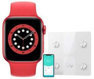 Apple Watch Series 6 GPS, 40mm Smartwatch + Free Anker EUFY Scales - £378.99 Delivered @ BT Shop