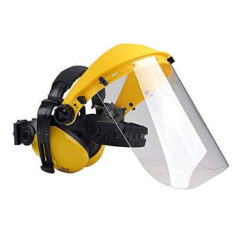 Oregon Q515062 Polycarbonate Visor/Ear Muff Combination, Yellow £9.60 Prime / £14.09 Non-Prime @ Amazon