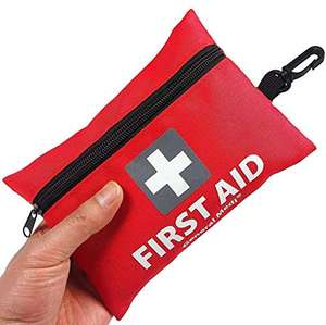 92 Pieces Small First Aid Kit £5.93 (Prime) + £4.49 (non Prime) Sold by General Medika and Fulfilled by Amazon