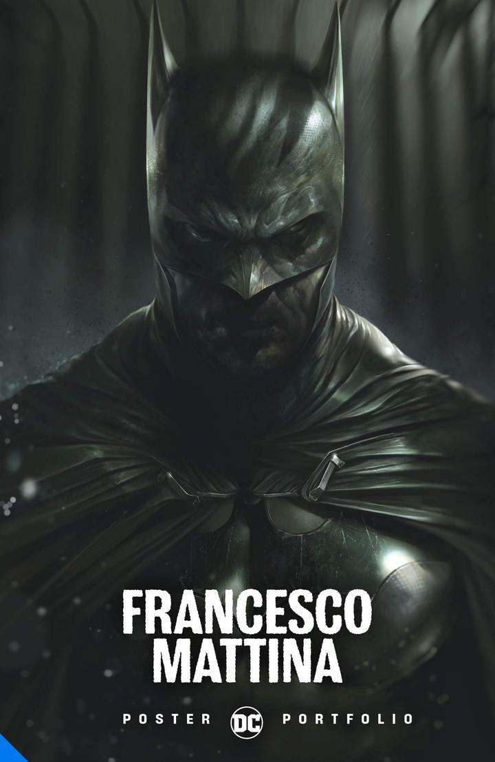 DC Poster Portfolio: Francesco Mattina (Book of 20 Removable Posters - Batman / Joker / Two Face etc) £11.99 delivered @ Forbidden Planet