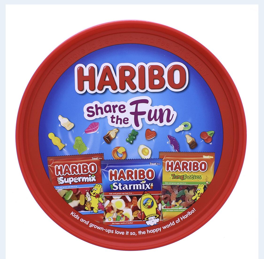 Haribo Share the Fun Sweets Tub (600g) £1.99 at FarmFoods Wednesbury