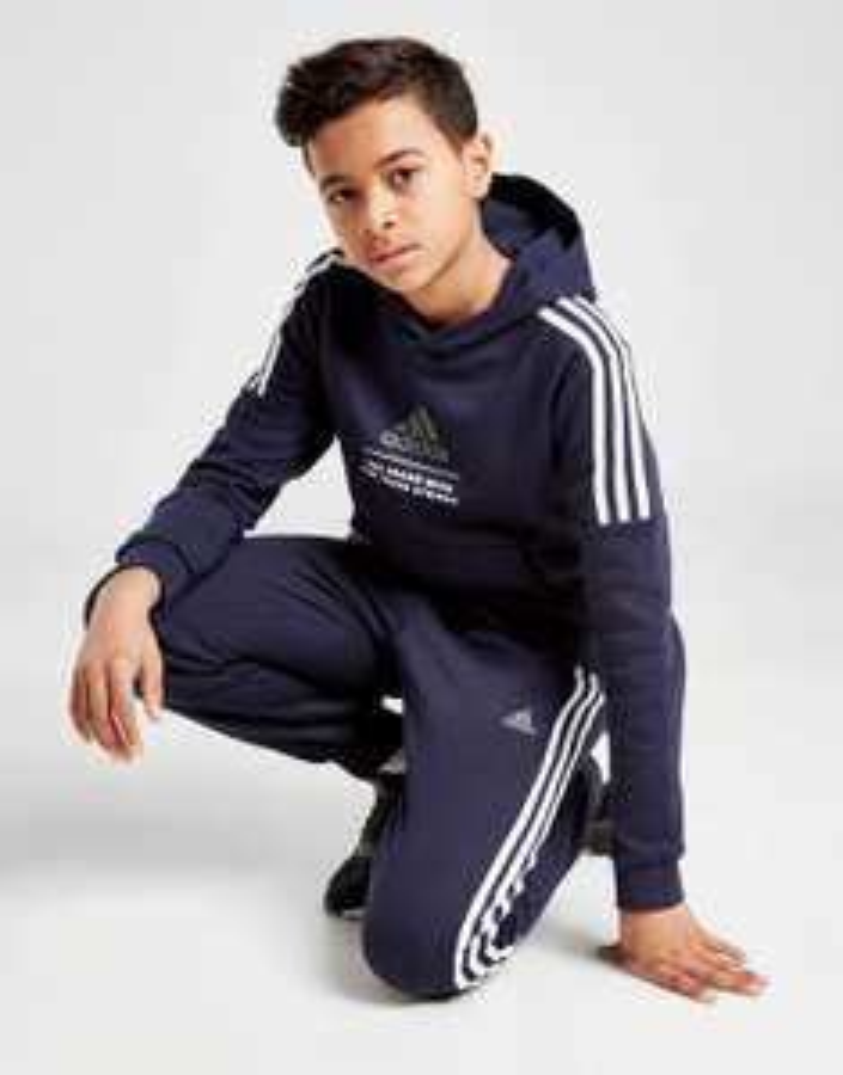 adidas Badge of Sport Fleece Hoodie Junior £25 (Free Collection) @ JD Sports