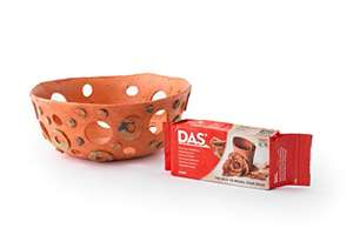 DAS 387600 Modelling Clay, 1kg, Terracotta £2.85 Prime (+£4.49 Non Prime) @ Amazon