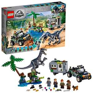 LEGO 75935 Jurassic World Baryonyx Face-Off: The Treasure Hunt Dinosaur Playset with Off Road Buggy Toy £45.72 at Amazon