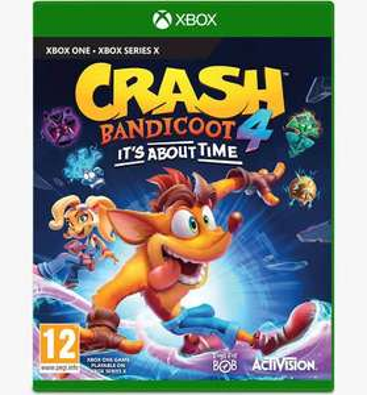 Crash Bandicoot 4: It's About Time (Xbox) £35 (UK Mainland) @ AO