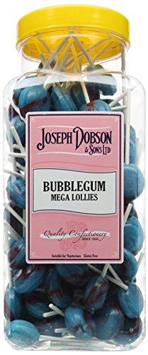 Joseph Dobson & Sons Bubblegum Mega Lollies 1.99 kg £7.11 (+ £4.49 Non Prime) @ Amazon