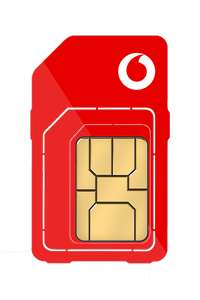 Vodafone 5G U/L Mins, Texts & Data for £24PM (£144 Cashback Effective Cost £12pm- £144) 12mth Contract £288 @ Affordablemobiles.co.uk