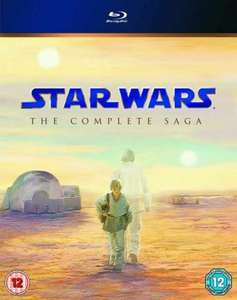 Star Wars: The Complete Saga Blu-ray (Very Good Condition) £14.38 delivered with code @ Music Magpie / ebay