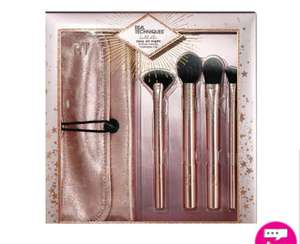 Real Techniques Rosy All Night Make Up Brush Set £10 (Free Click and Collect / Delivery for Members) @ Superdrug