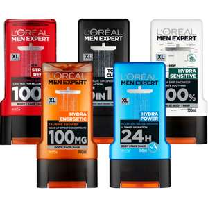 Member Daily Deals Now £1.20 on selected LOreal XL Shower Gels 300ml (Free click & collect) online & in-store @ Superdrug