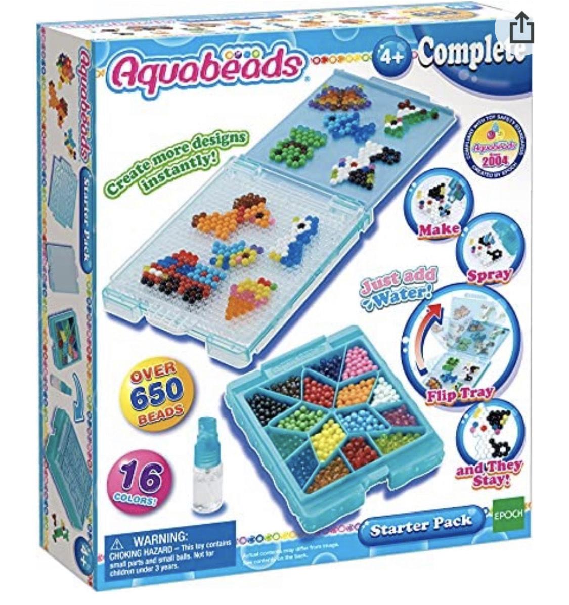 Aquabeads Starter pack £4.65 pr8me (+£4.49 nonPrime) at Amazon