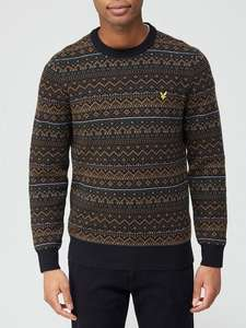 Lyle and Scott knitwear jumper now £30 with free Click & Collect at Very