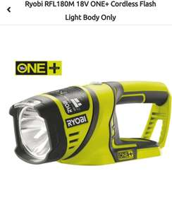Ryobi RFL 180M halogen torch (Body Only) - £15 click and collect / £20 delivered @ B&Q