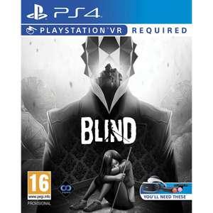 Blind (PS4) £4.95 delivered at The Game Collection