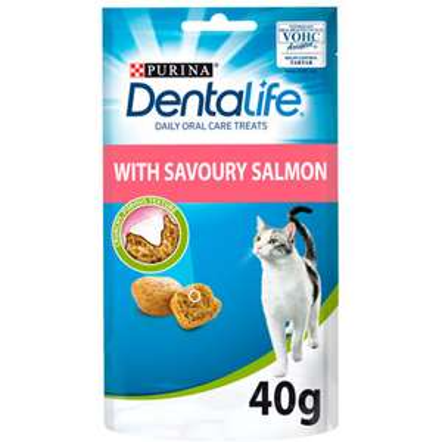 Dentalife Cat Food Treats 40g - Salmon 15p & Chicken 35p @ Asda (Park Royal)