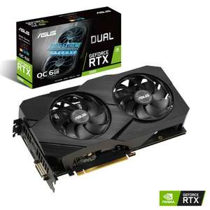 ASUS GEFORCE RTX 2060 DUAL EVO OC 6GB - £459.89 Delivered @ Overclockers