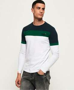 Superdry Mens Organic Cotton Orange Label Engineered Long Sleeve Top Various sizes £9.99 From Superdry Ebay store