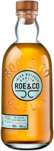 ROE And CO Blended Irish Whiskey £22.04 + £3.96 delivery at malts