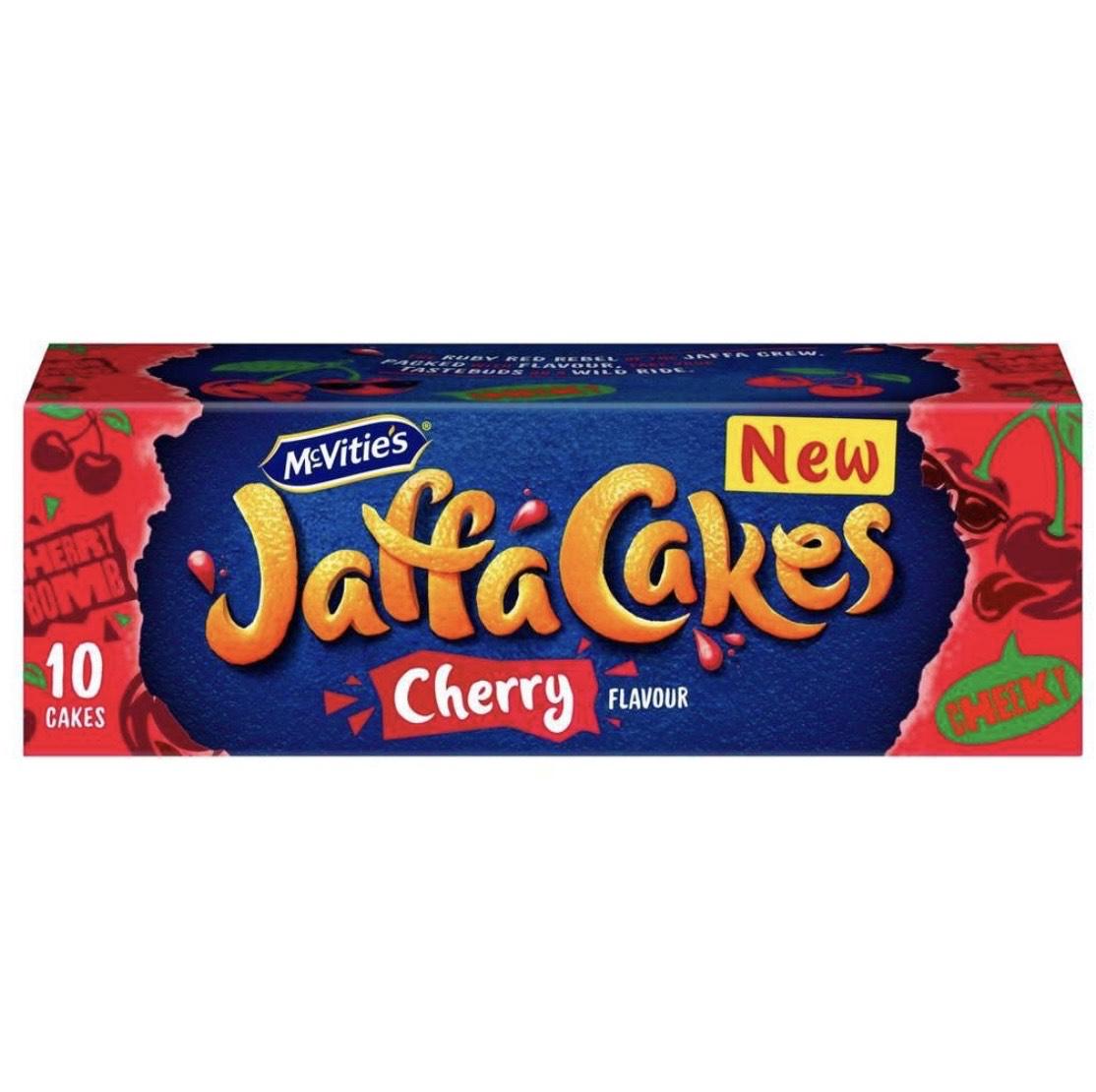 Mcvities Jaffa Cakes Cherry Asda Grantham - 30p