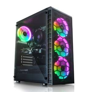 AWD Observatory Lite Mesh Ryzen 3 3600 Quad Core 4.3GHz RTX 2060 6GB Desktop PC for Gaming £799.90 from AWD-it