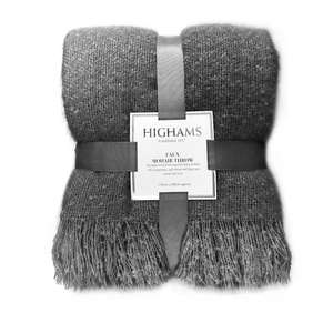 Highams Faux Mohair Large Throw - 150x200cm £13.75 Delivered @ Onlinehomeshop