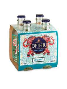 Opihr Gin & Tonic, 4 x 27.5 CL 6.5% abv (£4.50 min order of 2) £9 delivered @ Amazon Prime / £13.49 Non Prime