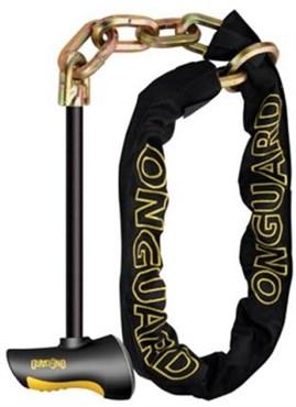 OnGuard Beast Chain Lock With X2 Steel T Bar £30.99 @ Tredz