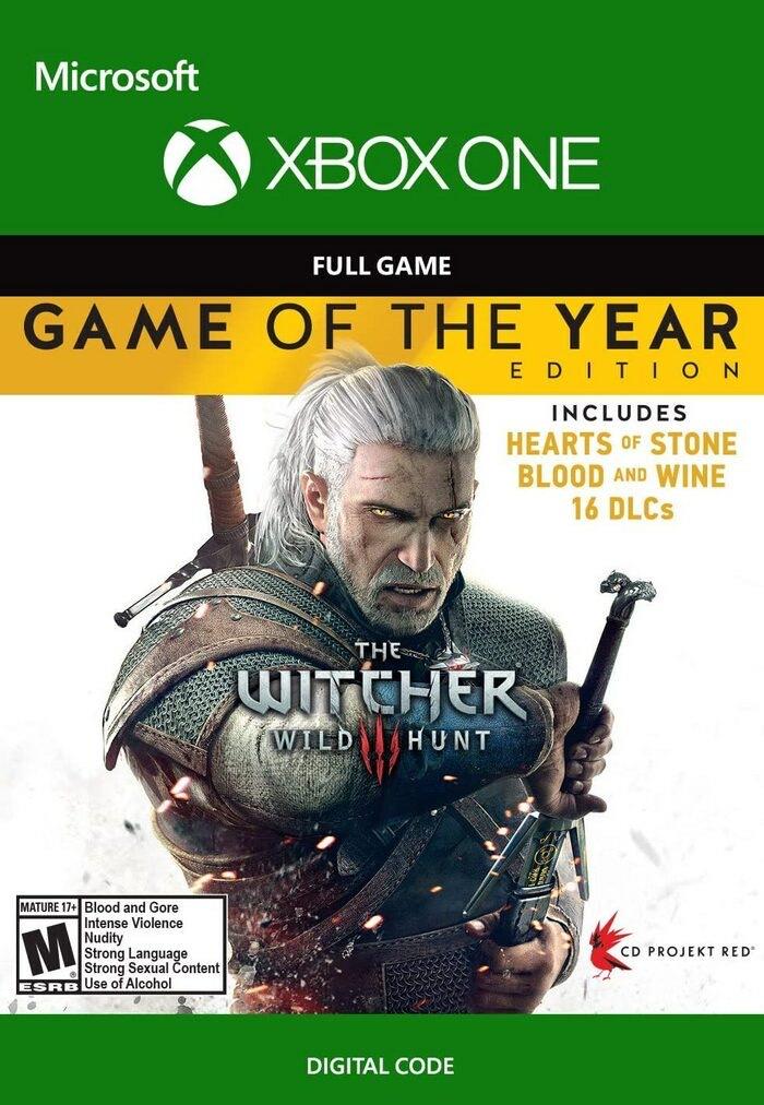 The Witcher 3: Wild Hunt GOTY Edition [Xbox One / Series X/S - Argentina via VPN] £2.91 using code @ Eneba / Zero Zero
