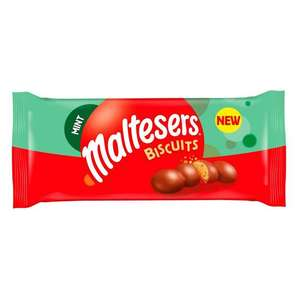 Maltesers Mint Biscuits (110g) 38p @ Tesco Fratton