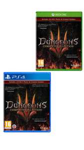 [PS4/Xbox One] Dungeons III Complete Collection - £4.99 delivered @ Simply Games