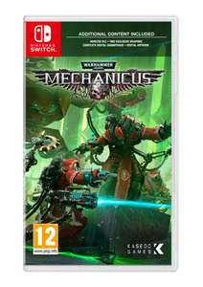 Warhammer 40,000: Mechanicus (Nintendo Switch) £19.85 @ Simply Games