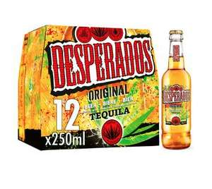 Desperados 12x250 / Peroni 10x330 and others mix and match 2 or £20 @ Asda