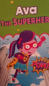 Personalised Super Hero Books 49p instore at Home Bargains (Crown Point)