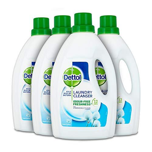 Dettol Antibacterial Laundry Cleanser Liquid Additive, Fresh Cotton 4x 1.5 Litre £12 / £9.60 S&S (+£4.49 NP) Delivered @ Amazon