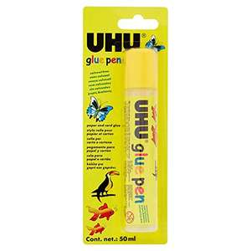 UHU Pen, Liquid Transparent Glue, 50ml (minimum quantity 2) - 1.80 p Prime (+£4.49 Non Prime) @ Amazon