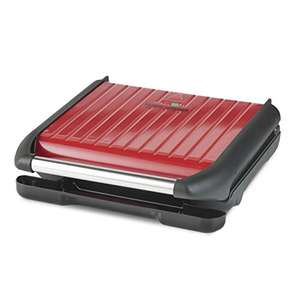 George Foreman Large Red Steel Grill 25050 - 7 portion - £28.50 @ Amazon