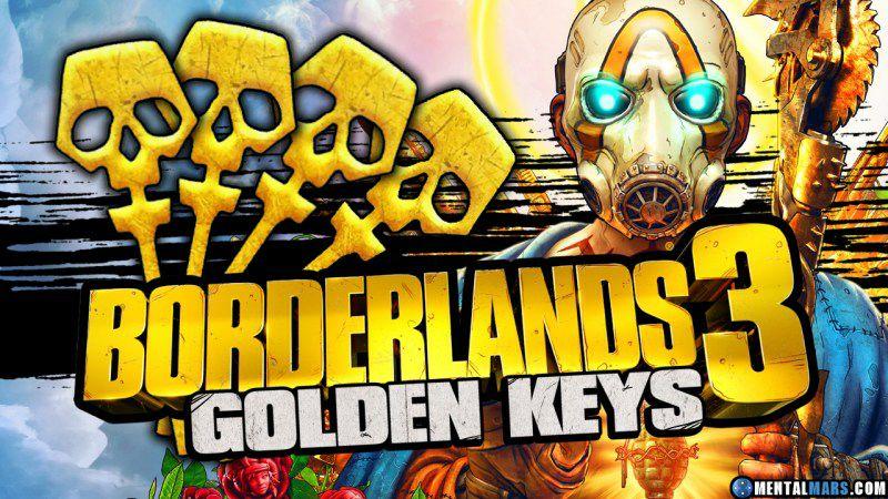 Borderlands 3 - 3 Golden keys Free @ Gearbox software