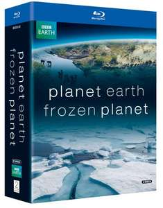 Frozen Planet / Planet Earth Blu-ray (used) £4.49 delivered @ World of Books