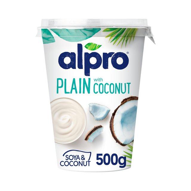 Alpro Plain with Coconut Yoghurt Alternative 500g £1 @ Morrisons