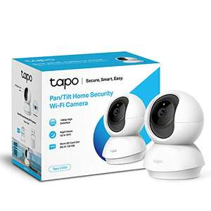 TP-Link Tapo C200 1080p Security Camera, Indoor CCTV, 360° Rotation, 2-Way Audio, Night Vision, SD Storage: £20.40 delivered @ Amazon