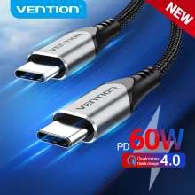 Vention USB Type C Cable 3A Fast Charging 0.25m/0.5m/1m/1.5m 1p delivered @ Ali Express / Vention Official Store