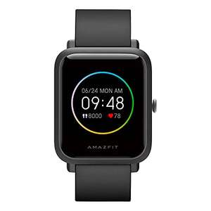 Smart Watch for Men Amazfit Bip S Lite Fitness Watch with Heart Rate, Sleep Monitor, Always-on Display 150+ Watch Face £31.90 @ Amazon