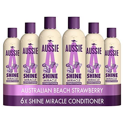 Aussie Miracle Shine Conditioner 250 ml - Pack of 6 £10.39 prime / £14.88 non prime @ Amazon