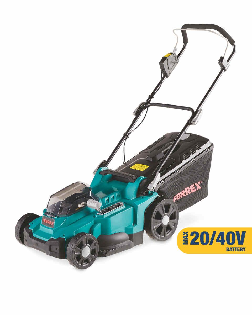Ferrex Cordless 40V Lawn mower Body Only £85 + £3.95 delivery @ Aldi