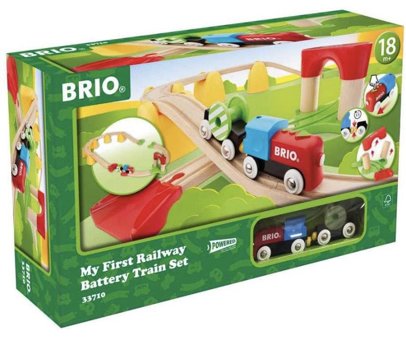 BRIO My First Railway Battery Operated Train Set £20.54 @ Amazon