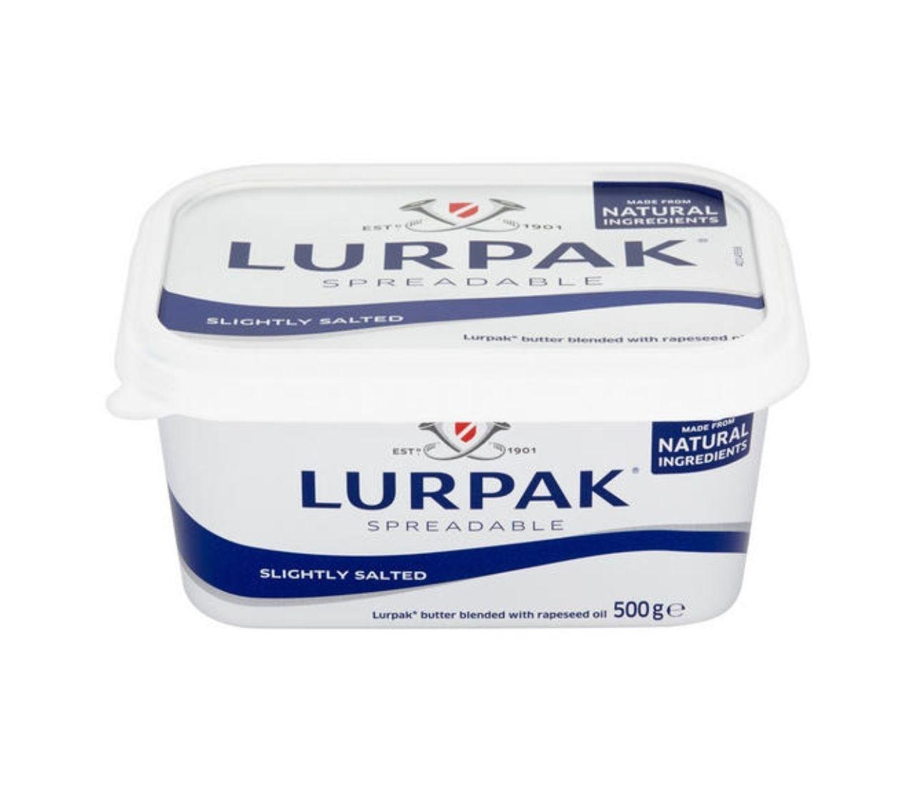 2 for £5 - Lurpak Spreadable Slightly Salted / Lighter Slightly Salted 500g @ Iceland