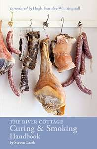 River Cottage Curing and Smoking Handbook BBQ - £9.24 (Prime) + £4.49 (non Prime) at Amazo