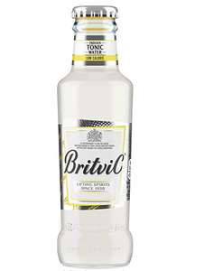 Britvic Indian Tonic Water - Low Calorie Drink - Pack of 24 x 200ml £12 prime / £16.49 non prime @ Amazon