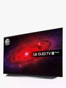 LG OLED48CX5LC (2020) OLED HDR 4K Ultra HD Smart TV 5 year guarantee - £1098 delivered using code @ John Lewis & Partners