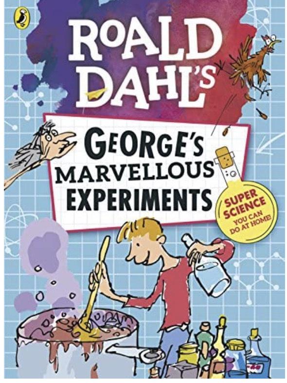 Roald Dahl: George's Marvellous Experiments £3.99 prime / £6.98 non prime @ Amazon
